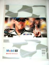 MOBIL ONE JEREMY MAYFIELD Autographed Collectible 2001 Road Atlas amp; Race Guide $2.99