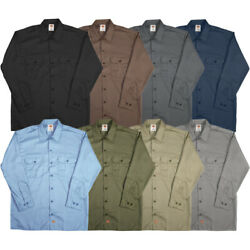 Dickies Men#x27;s Longsleeve Work Shirt Style # 574 $32.99