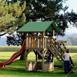 52quot;x90quot; Swing Set Replacement Tarp UV Protection Playground Roof Playset $21.90