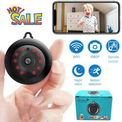Mini Camera Wireless 1080P Wifi IP Smart Home Security Camcorder Night Vision $14.87