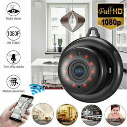 Mini Camera Wireless 1080P Wifi IP Smart Home Security Camcorder Night Vision $14.79