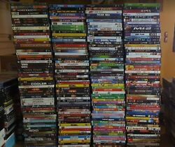Wholesale Lot of 100 Used DVD Assorted Bulk Free Samp;H Video Dvds CHEAP