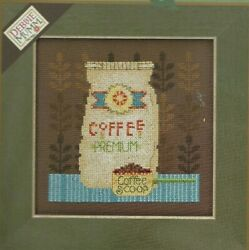 COFFEE GROUNDS Debbie Mumm Mill Hill Coffee amp; Friends Counted Cross Stitch KIT $21.00