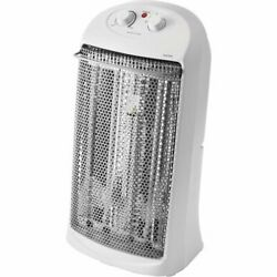 Electric Tower Space Radiant Heater Indoor White HQ-2000W Two heat settings $69.99