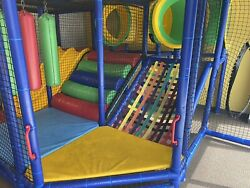 Indoor Commercial Playground Playset Children Daycare Church Jungle Gym $5,500.00