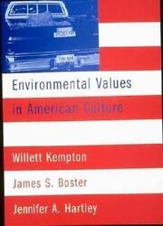 Environmental Values in American Culture $4.09