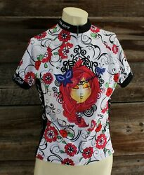 Voler Pedal Power Cycling Jersey Women#x27;s Size Small $18.00