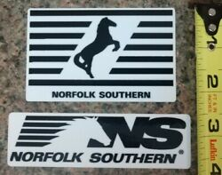 NS Norfolk Southern Railroad Train 2 Sticker Set Decal High Quality Gloss NEW $5.00