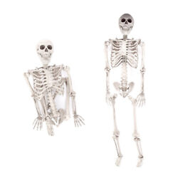 35quot; 3ft Halloween Party Decoration Props Life Size Skeleton Poseable Human Bone $18.90