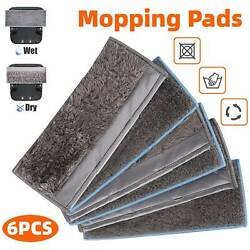 6x Washable Wet Dry Mopping Pads Parts Clean Floor for iRobot Braava M6 Mop USA $18.48