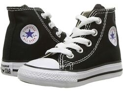 Authentic Converse All Star YOUTH BLACK HIGH Reg Price $45 New In Box $27.25