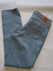 LEVI#x27;S MID RISE SKINNY JEANS FOR WOMEN PREOWNED SIZE 31X32 $10.99