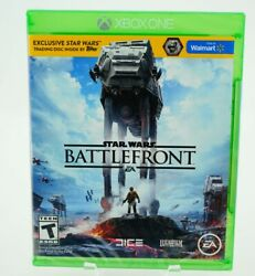 Star Wars Battlefront Exclusive Trading Disc Inside: Xbox One [Brand New] $17.98
