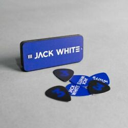 JACK WHITE Metal Guitar Pick Tin +6 Picks BOARDING HOUSE REACH Third Man Records $16.67