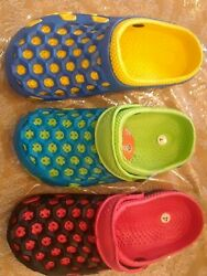 new boys or girls beach sandals clogs water proof slip on $10.49