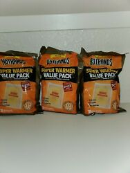 30 LARGE HotHands Body & Hand Super Warmers Value Pack 18 Hours Of Heat Each $24.99