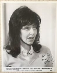 """Elaine May Signed  Inscribed Photo 8""""X10 California Suite Film 1978 Autographed"""