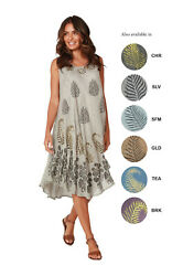 Women#x27;s Beach Cover Up Long Beach Umbrella Dress with Embroidery SCR383 $19.99