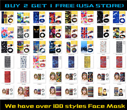 Face Mask Neck Gaiter Bananas Balaclava Fishing Cycling Outdoor Shield 36 styles $8.59