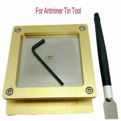 For Antminer Tin Tool for S9 S9J Hash Board Repair Chip Plate Holder Tin Fixture $94.98