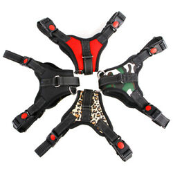 New No Pull Dog Harness Heavy Duty Reflective Adjustable Padded Handle Mesh Vest $7.99