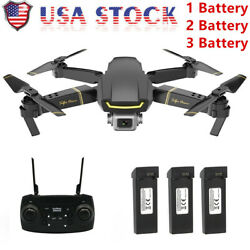 GLOBAL GW89 RC Drone Camera 1080P Wifi FPV Gesture Photo Video W 1 2 3Battery US $65.98