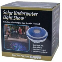 Solar Underwater Light Show for Swimming Pool and Spa - GAME 3456-4Q-01 .New. $90.00