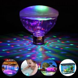 Underwater LED Glow Light Show Swimming Floating for Pool Pond Hot Tub Spa Lamp $12.59
