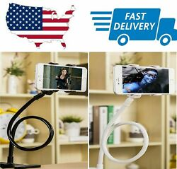 New Cell Phone Clip Holder Goose Neck Universal Lazy Bracket Flexible Long Arm $7.49