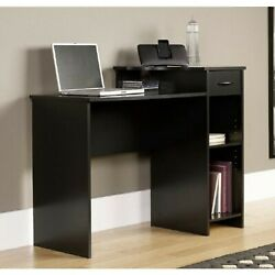 Mainstays Student Desk with Easy-glide Drawer Blackwood Finish $130.00