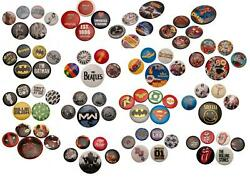 Character Button Badge Gift Novelty Pack Various Designs GBP 4.49