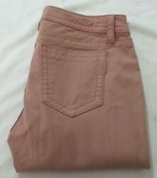 Miss Me Mid Rise Easy Crop Pink Women Jeans Size 36 $39.99