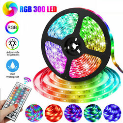 Waterproof Flexible Strip Light RGB LED SMD Remote Fairy Lights Room Party Bar # $9.89
