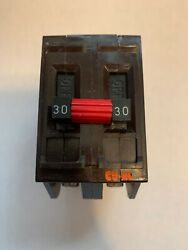 WADSWORTH 30 AMP DOUBLE POLE 2P 30A CIRCUIT BREAKER METAL FEET TESTED $39.95