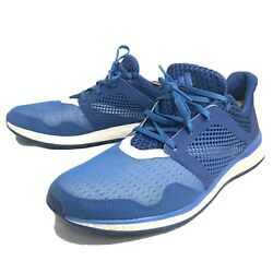 Men#x27;s Adidas Energy Bounce 2 Running Walking Shoes Blue AQ3153 Size 11.5 $44.99