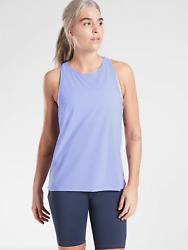 NWT Athleta Ultimate Train Tank in Periwinkle Blue Size Medium M #530586