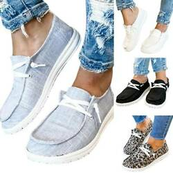 Womens Pumps Slip On Flat Loafers Single Outdoor Summer Casual Boat Shoes Size $20.80