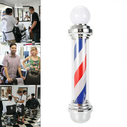 SALE!! Barber Shop Sign Wall-Mounted Lamp Rotating Pole Light LED Salon US Plug $64.27