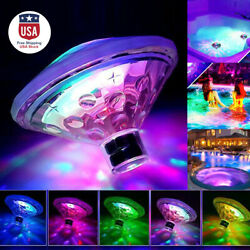 LED RGB Floating Underwater Disco Lights Glow Show Swimming Pool Tub Lamps Party $13.99