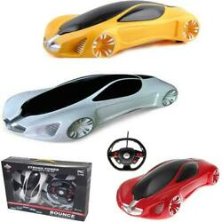 Bounce Rollover Stunt Car With Steering Wheel 1:4 Scale High Speed Kids Toy GBP 18.99