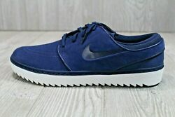 53 Nike Janoski G Mens AT4967 400 Size 10.5 12 Navy Suede White Golf Shoes $76.99