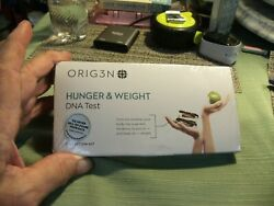 3#T   Sealed Box ORIG3N Genetic Home DNA Test Kit hunger & weight NEW $9.99