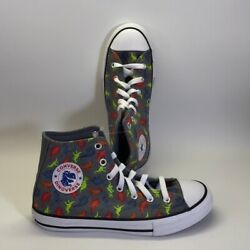 Converse all star youth dinosaur sneakers youth size 2 $32.00