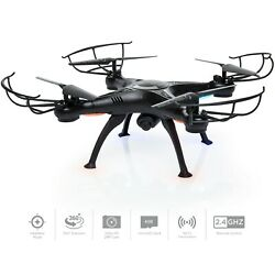 Upgraded 6 Axis Headless RC Quadcopter FPV RC Drone W HD Camera Altitude Hold $78.99