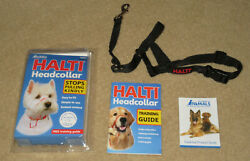 Company of Animals Halti Headcollar for Dogs with 12-15.5 Neck Size 1 Black NEW $15.00