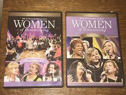 Gaither Gospel Series: Women of Homecoming Vol. 1 & 2 (DVD 2013) Free Shipping $13.80