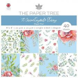 THE PAPER TREE 2 PADS PAPER 6 X 6 N 8 X 8 COUNTRYSIDE STORY 88 SHEETS $16.00