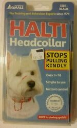 DOG HALTI Head Collar SIZE 1  ~ Gentle STOP PULLING Kindly   Dog Lead  BRAND NEW $4.95
