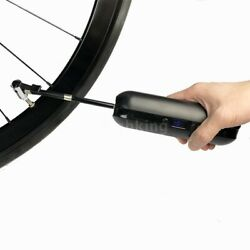 150PSI Bike Rechargeable Inflator Bicycle Motorcycle Car Tire Air Pump Black $39.95