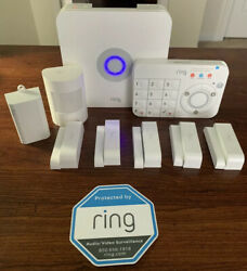 Pre-Owned Ring Alarm System with Five Door/Window Sensors, Motion Sensor, More $150.00